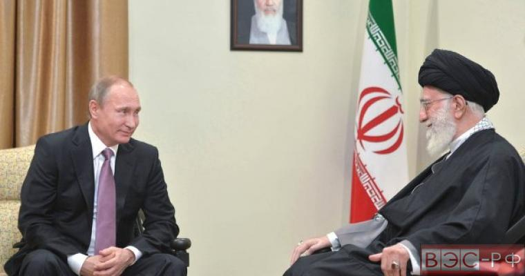 Путин на переговорах с Ираном