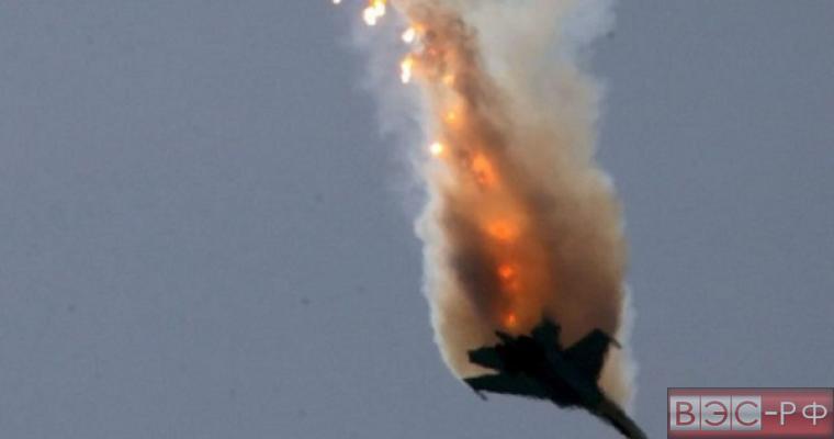 Опубликовано видео падения истребителя в Сирии