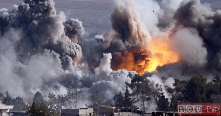 Сбитый самолет в Сирии