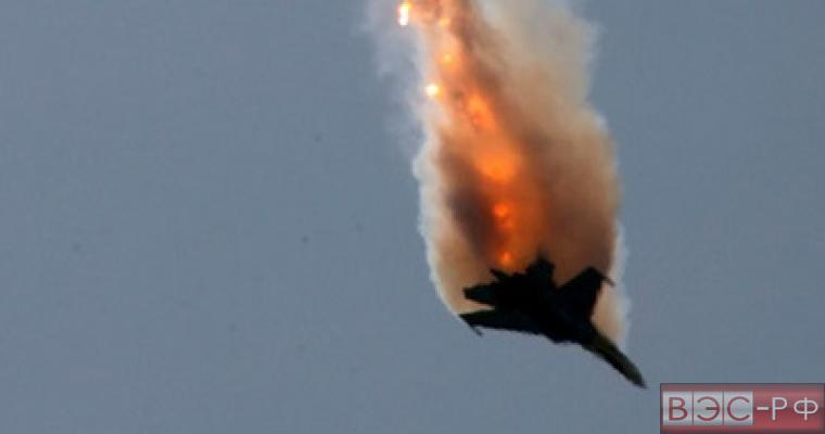 Сбитый российский самолет в Сирии