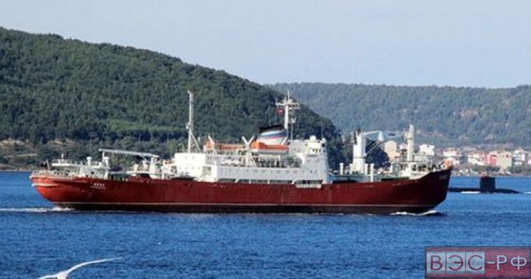 Встреча военного корабля России и турецкой подлодки попала на видео