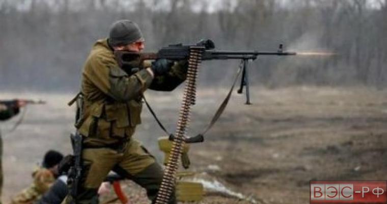 в ДНР идут непрекращающиеся обстрелы, ВСУ обстреляли собственные позиции возле Бахмутки