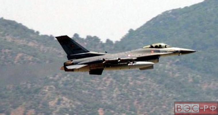 ВВС Греции взяли на прицел турецкий F-16