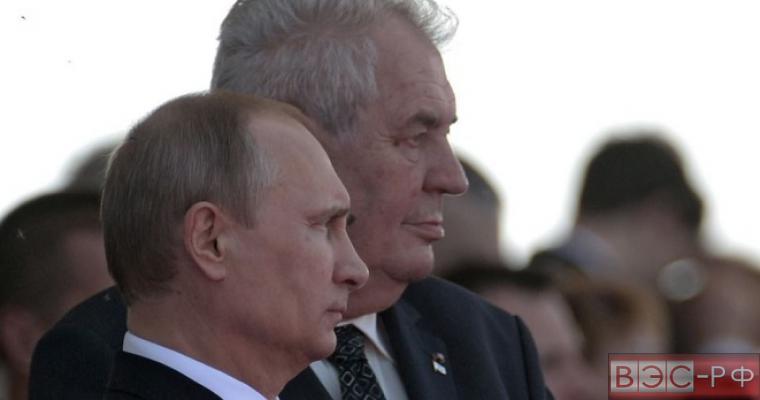 Чешский сенат отказался признать антиконституционными заявления президента в поддержку РФ