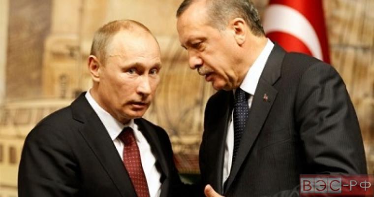 """Какие """"чувствительные вопросы"""" обсудили в Анталье Путин и Эрдоган"""