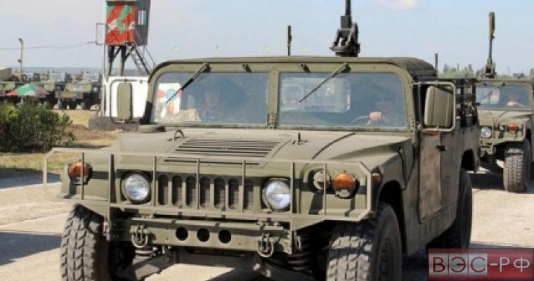 Ополчение купило у ВСУ Humvee