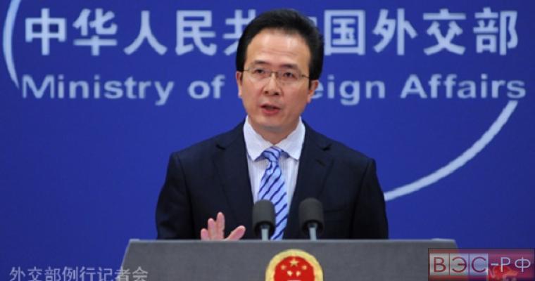 МИД КНР: атака на Су-24 - потеря для усилий по борьбе с терроризмом
