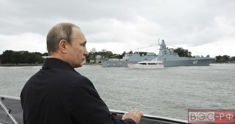 """США все больше опасаются российского военно-морского флота, который """"недавно очнулся от сна"""""""