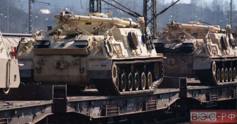 НАТО размещает тяжелое вооружение по вине России