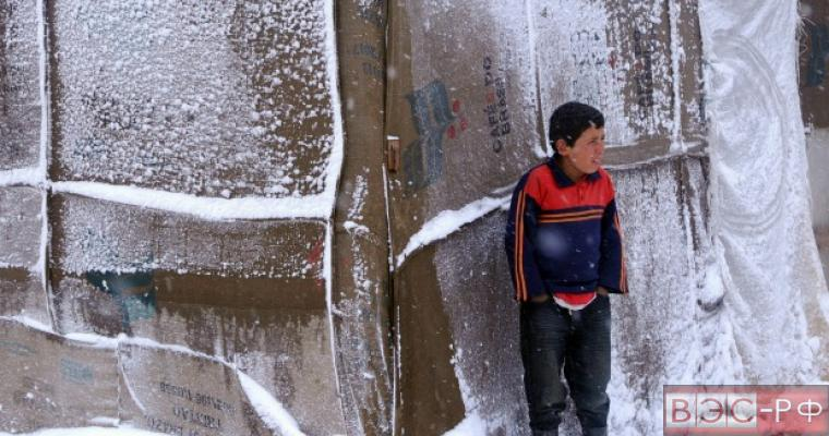 Снег в Сирии связали с русскими войсками