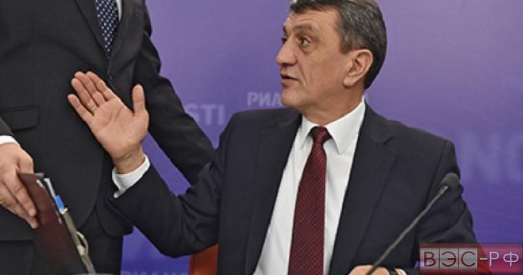 Меняйло об аресте Киевом буровых установок: Можно и Луну арестовать
