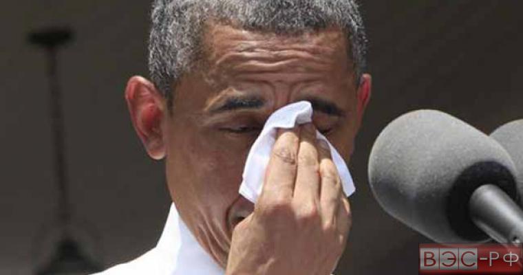Обама не сдержал слез, говоря об указе, ограничивающем продажу оружия