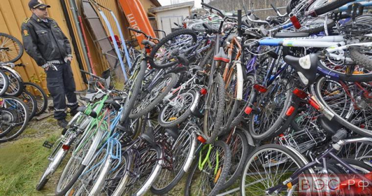Норвежские власти начали собирать велосипеды для отправки беженцев в Россию