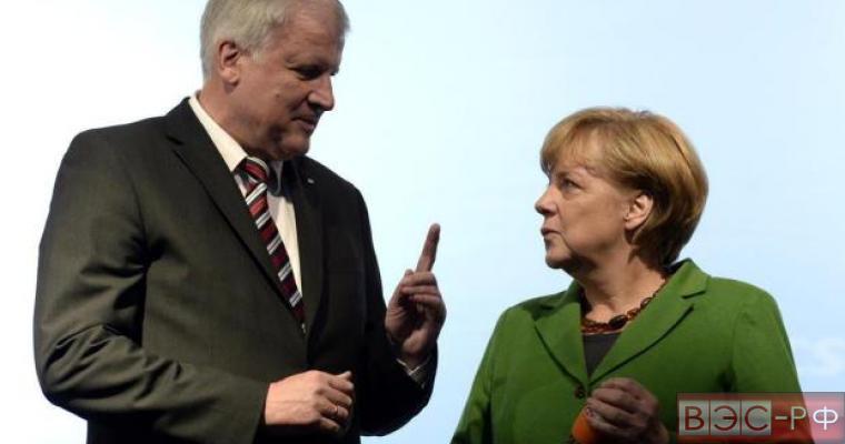 меркель и зеехофер