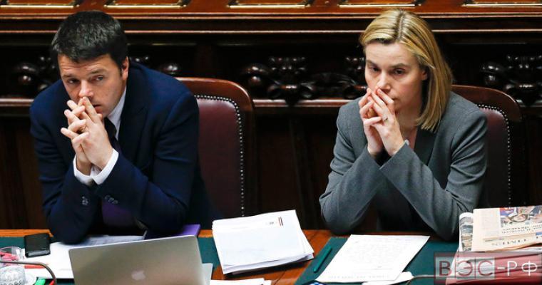 Ренци после обвинений Юнкера потребовал не пытаться управлять Италией извне