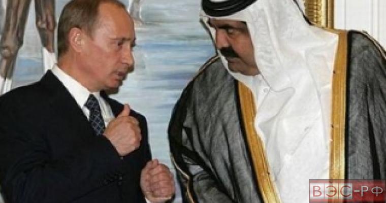 Путин и эмир Катара