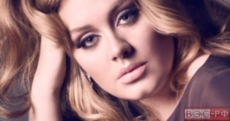 Британская певица Адель