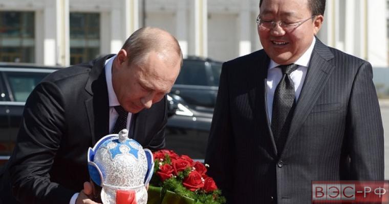 Россия простила долг Монголии