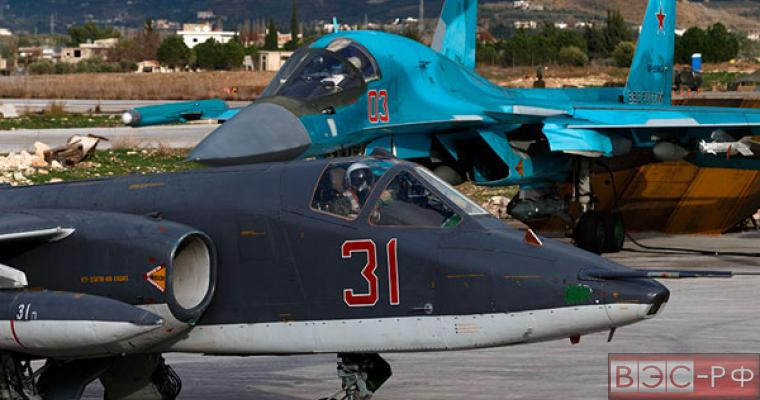 Авиация РФ в Сирии
