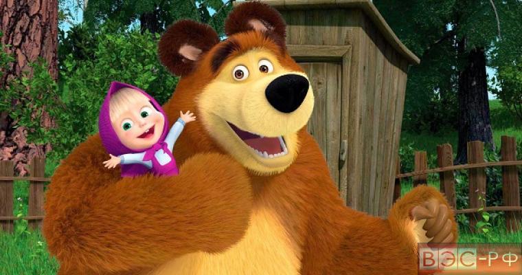 """Мультфильм """"Маша и медведь"""" собрал рекордное количество просмотров в интернете"""