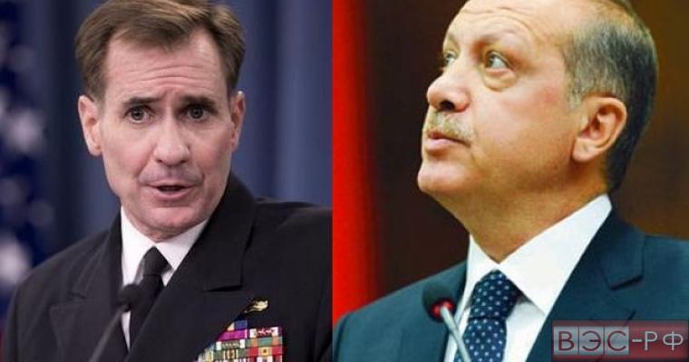 Госдеп не придумал,  как оправдать Турцию