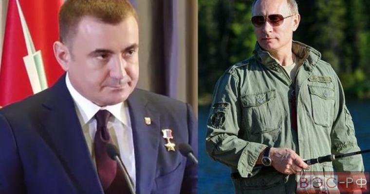 Новый губернатор Дюмин рассказал, как спас Путина от медведя