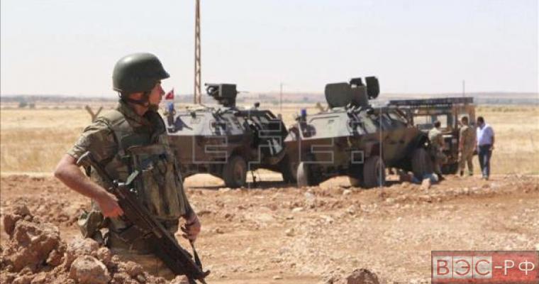 Турция нанесла удар по позициям курдов в Сирии