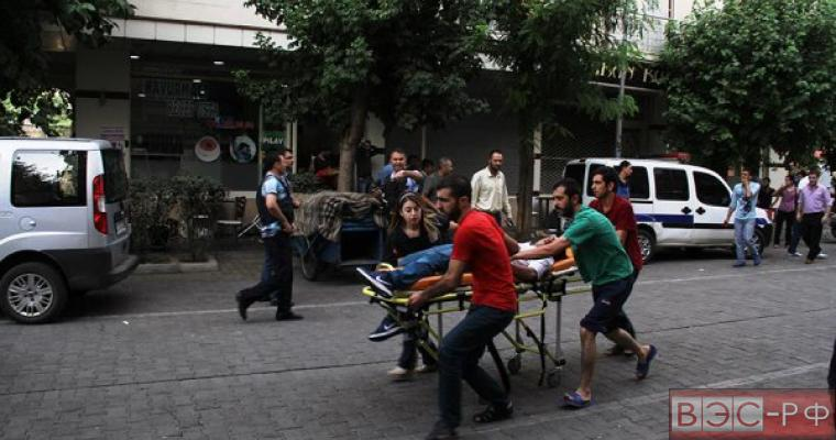 Взрыв на юго-востоке Турции