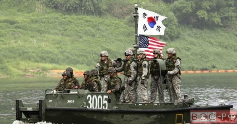 США и Южная Корея проводят совместные учения