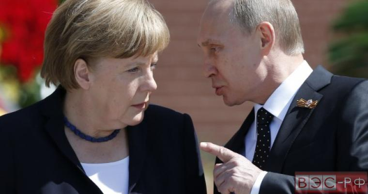 Путин, Меркель