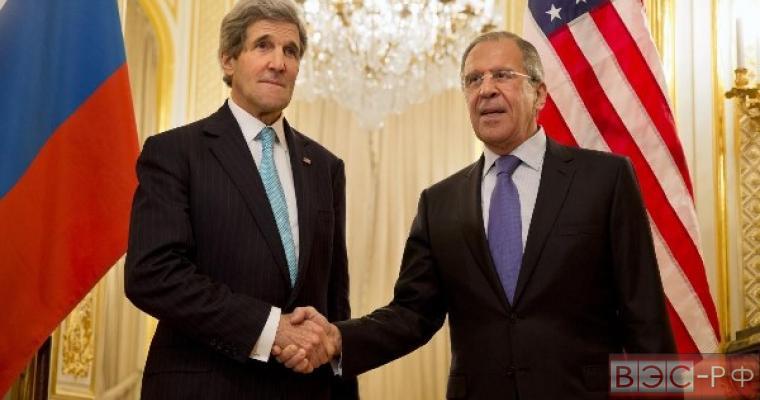 Лавров и Керри обсудят вопросы сотрудничества