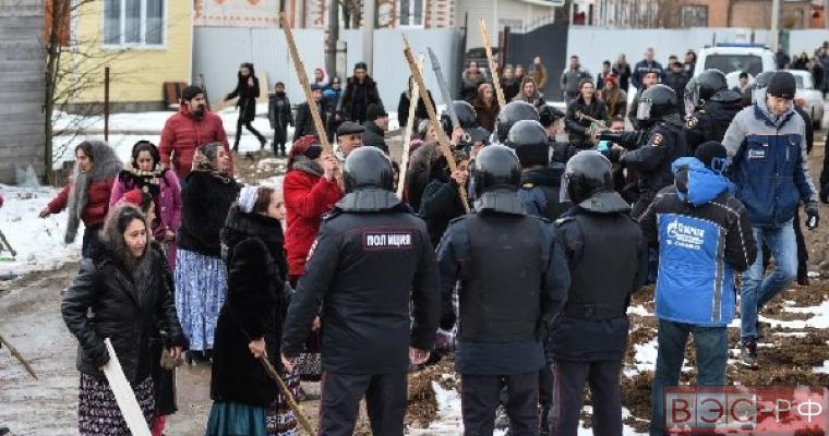 Цыганский самострой в Тульской области