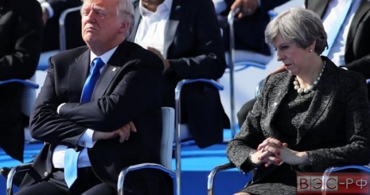 Трамп и Мэй
