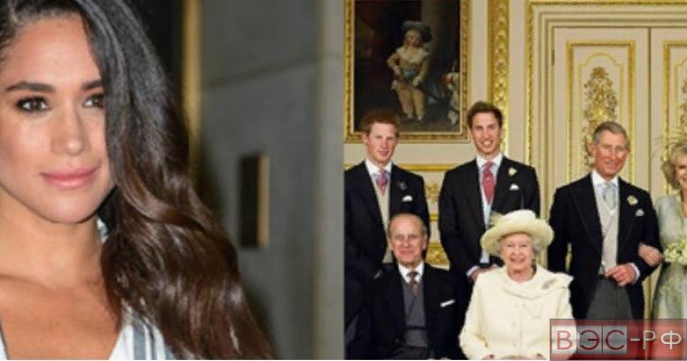 Меган Маркл и семья Принца Гарри