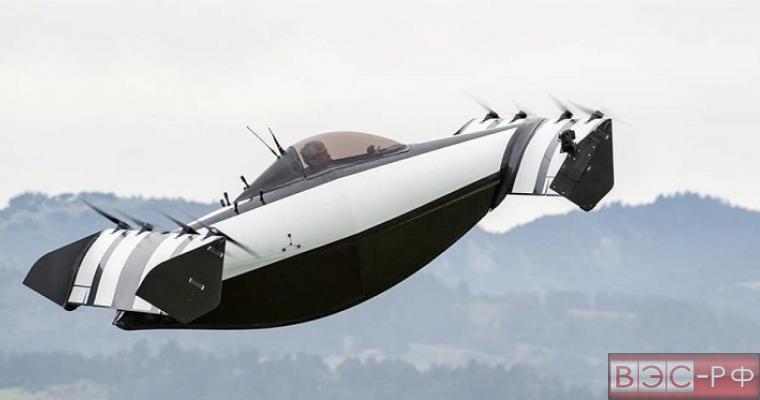 Летающий автомобиль BlackFly