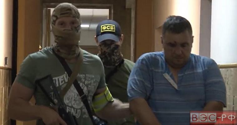 Опубликовано видео операции по задержанию украинских диверсантов