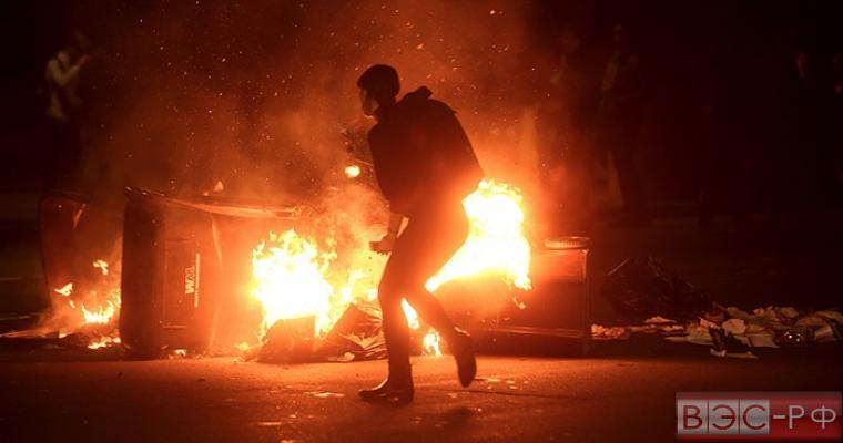 В США вспыхнули акции протеста по итогам выборов