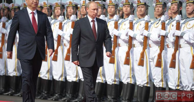 В. Путин и Си Цзиньипин