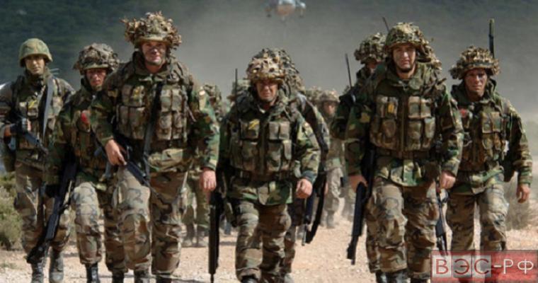 Учения НАТО в Прибалтике