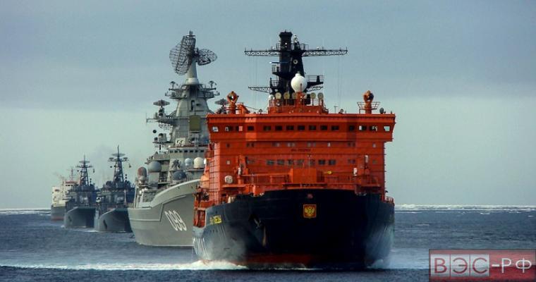 Арктический флот из боевых ледоколов создадут в России