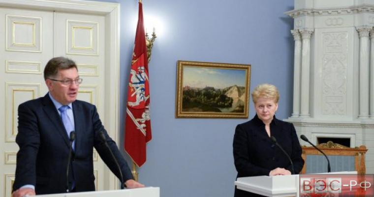 Китай не намерен работать с Литвой