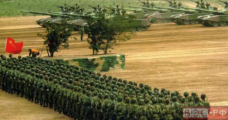 Китайские войска направляются в Сирию