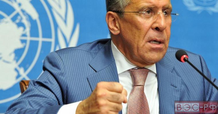 Лавров отреагировал на заявление Вашингтона