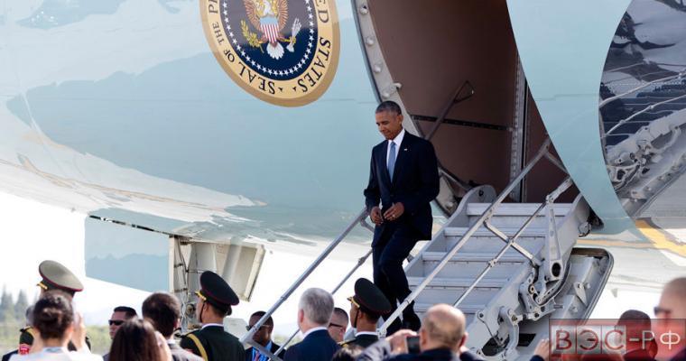 Китай прокомментировал инцидент с самолетом Обамы в аэропорту Ханчжоу