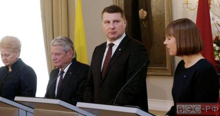 Прибалтику заставили идти на поклон РФ