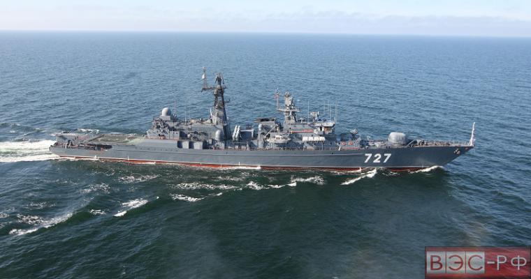 США обвинили российский корабль