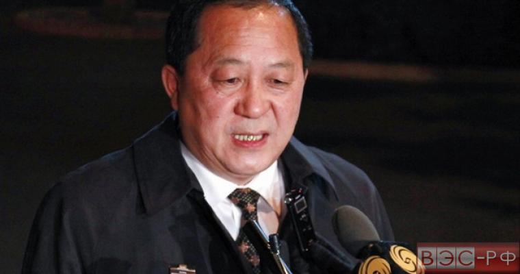 Глава МИД КНДР Ли Ён Хо