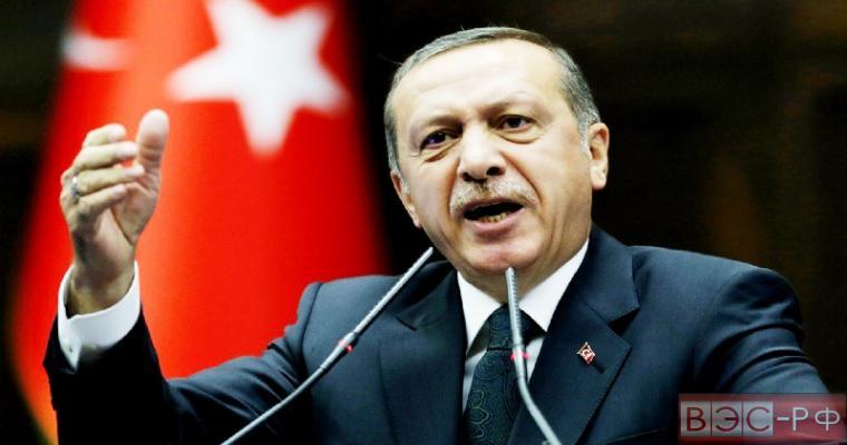 Турецкий лидер Эрдоган