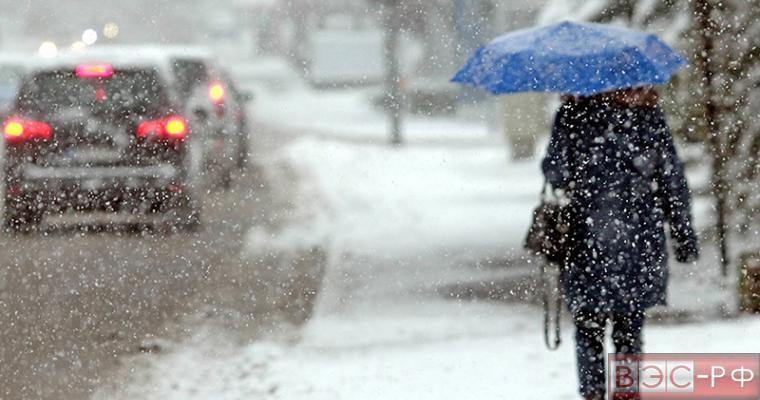 Снегопад в Якутии