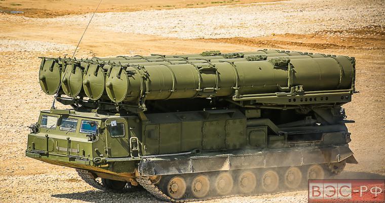 Россия разместила ПВО С-300ВМ в Сирии